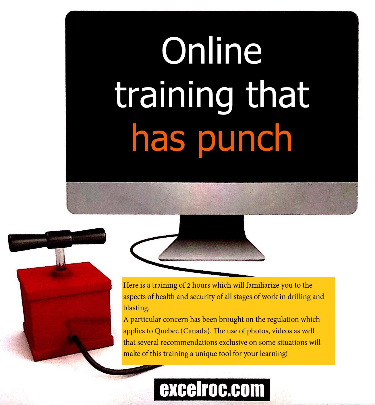 Online training that has punch